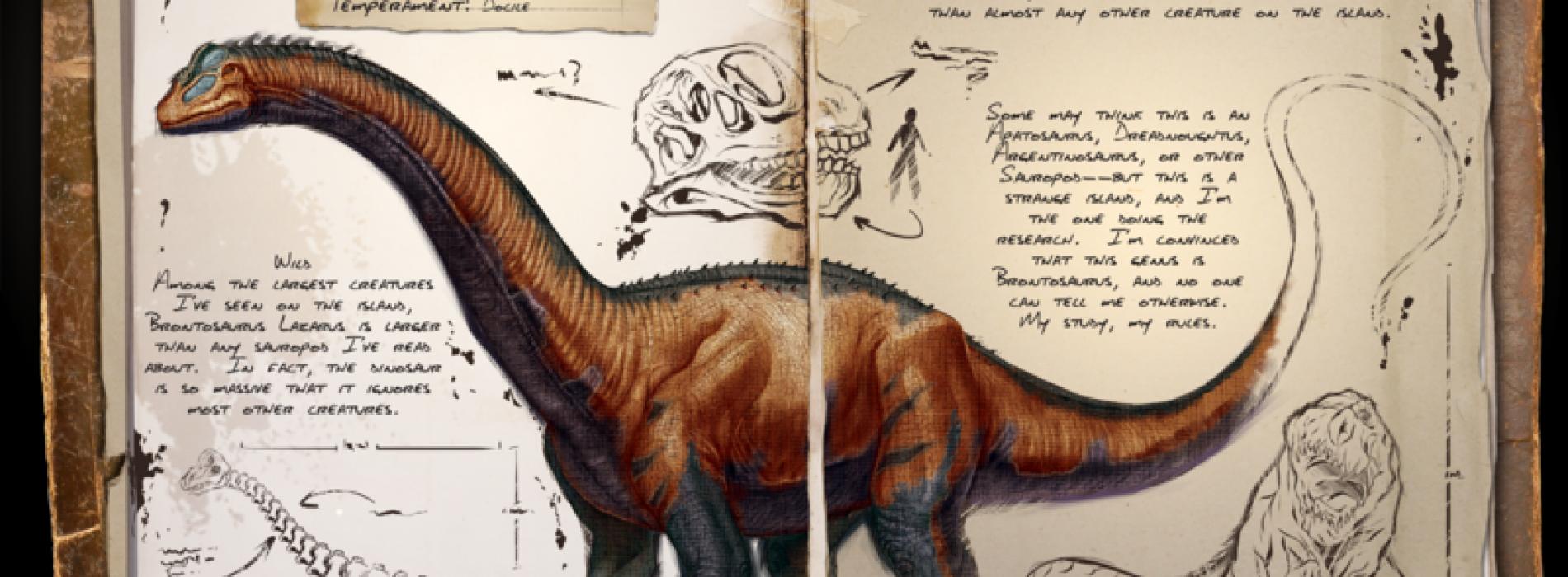 Бронтозавр Brontosaurus