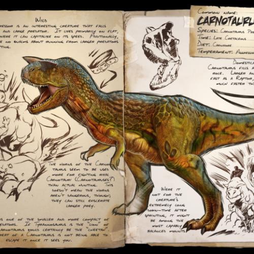 Карнотавр Carnotaurus