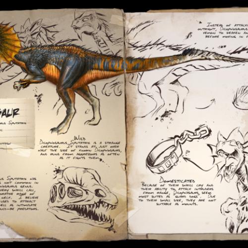 Дилофозавр Dilophosaur