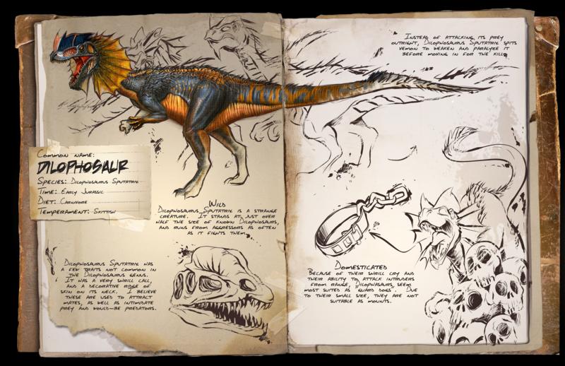 DilophosaurusFrill
