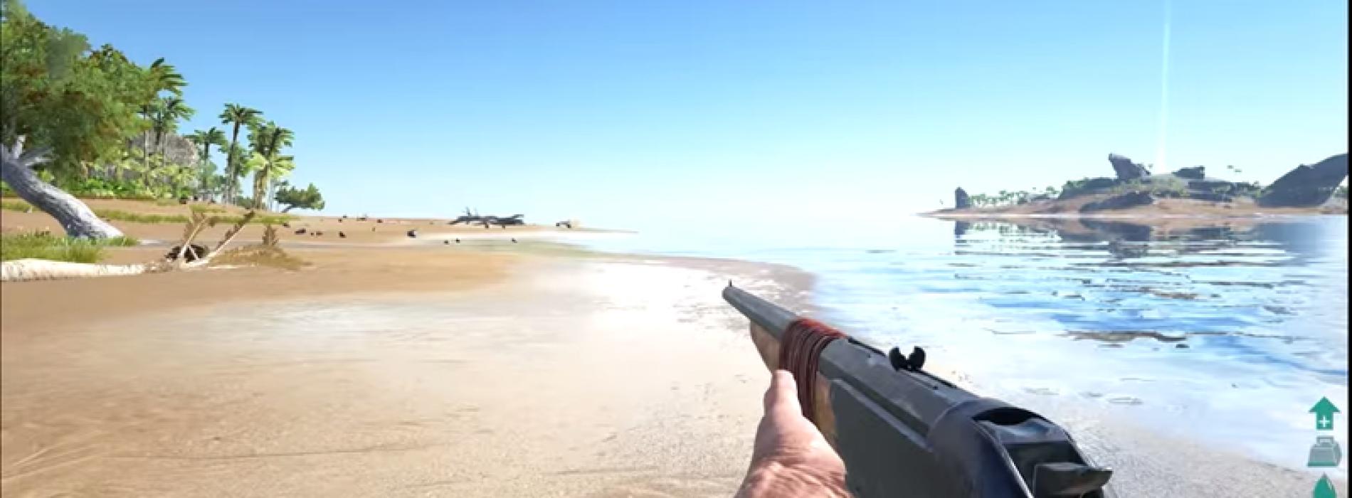 Длинноствольное ружьё Longneck Rifle