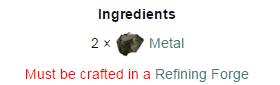 Metal Ingot