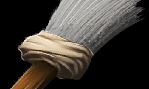 Кисточка, Помазок Paintbrush