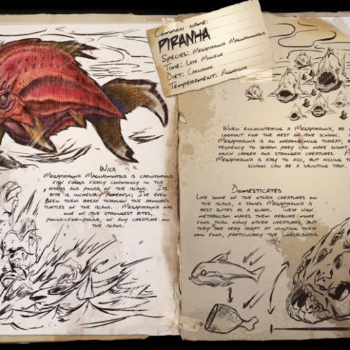 Пиранья Piranha