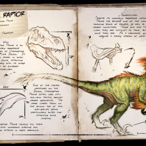 Раптор — Raptor (Utahraptor)