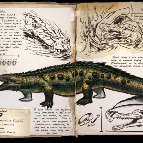 Саркозух (Крокодил)
