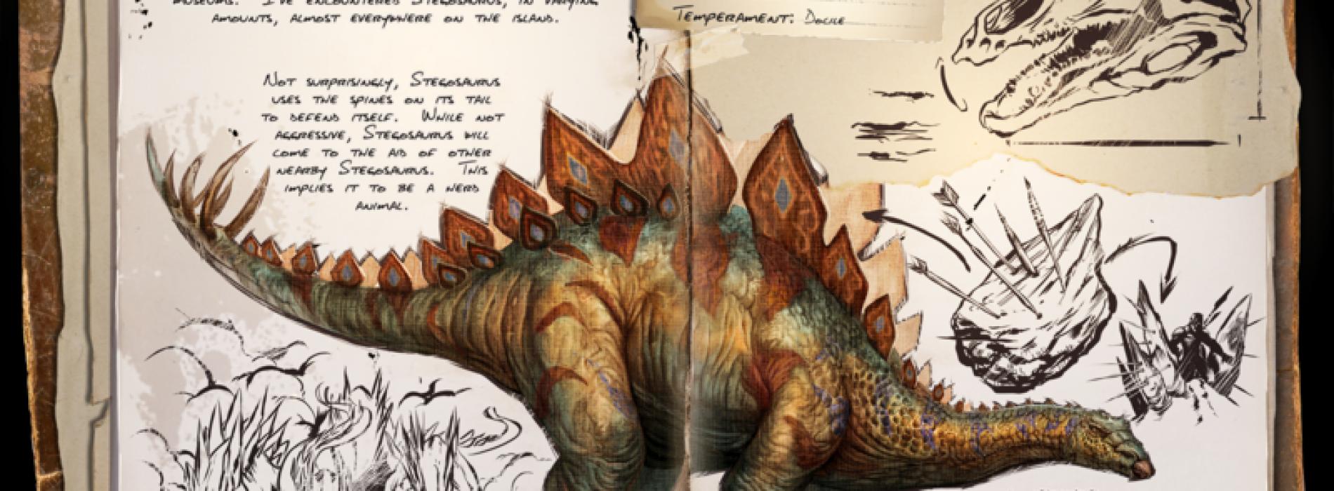 Стегозавр Stegosaurus