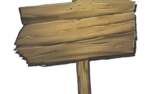 Деревянный знак Wooden Sign