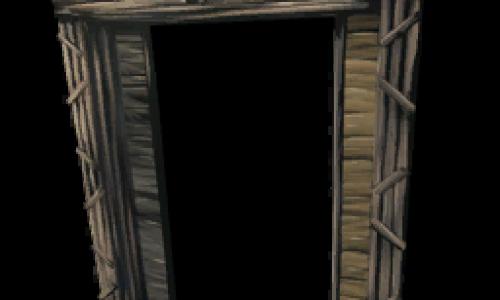 Деревянные Ворота Dinosaur Gateway