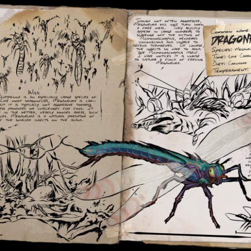Стрекоза Dragonfly