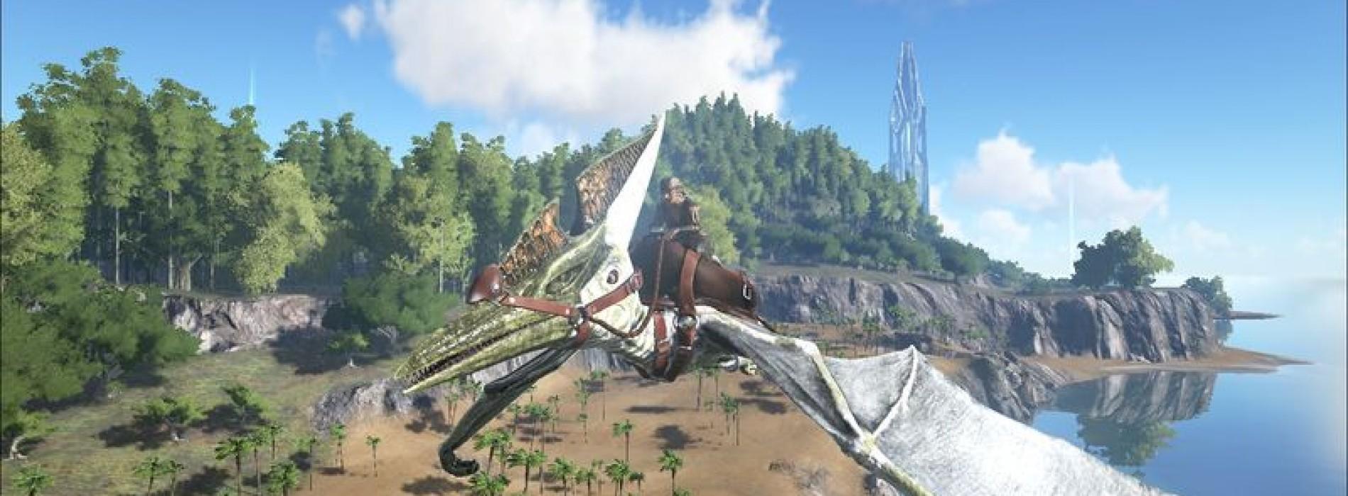 Птеранодон (Птеродактиль) Pteranodon