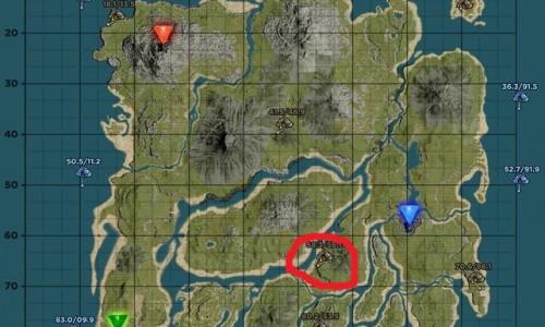 Верхняя Южная Пещера Upper South Cave — координаты и положение на карте