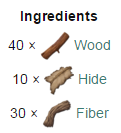 Wooden Spike Wall