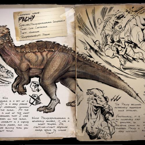 Пахицефалозавр Pachycephalosaurus – Pachy