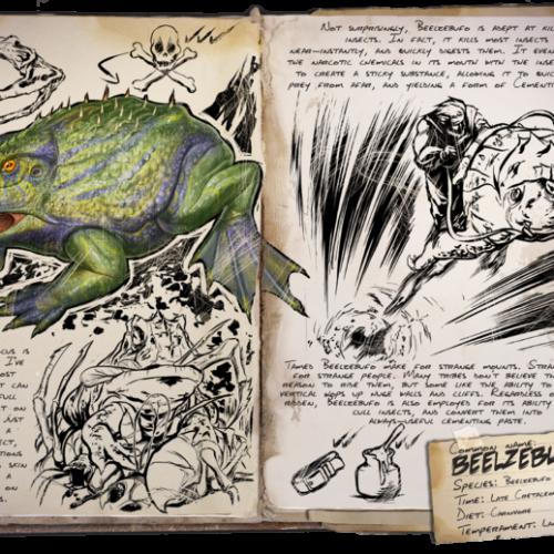 Лягушка Beelzebufo