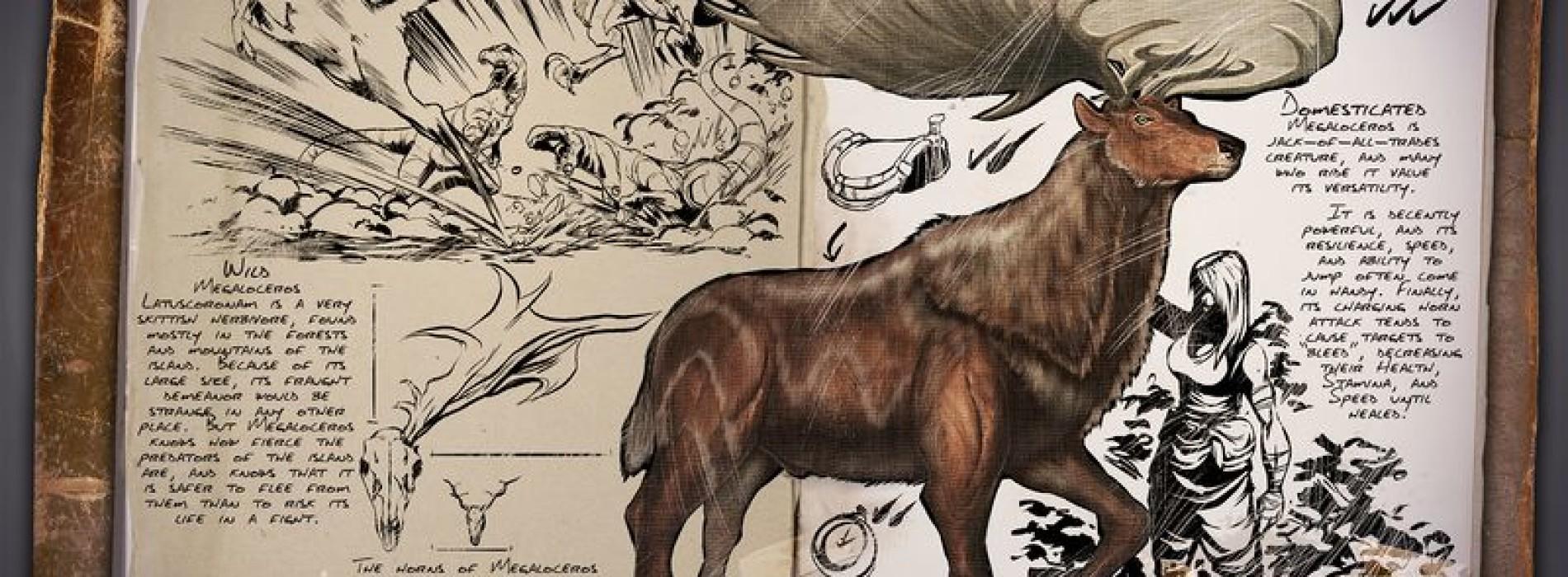 Олень (Лось) — Megaloceros