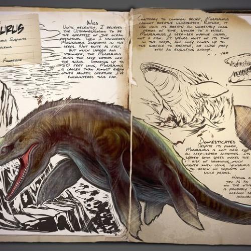 Мозазавр Mosasaurus