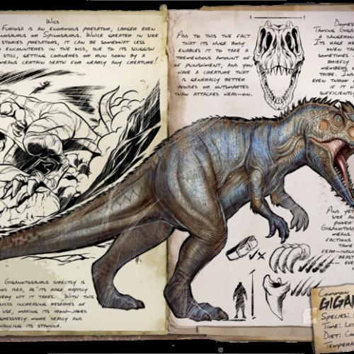 Гигантозавр Giganotosaurus