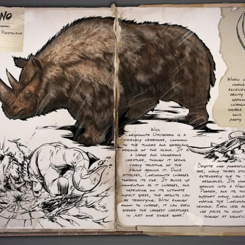 Шерстистый Носорог Woolly Rhino